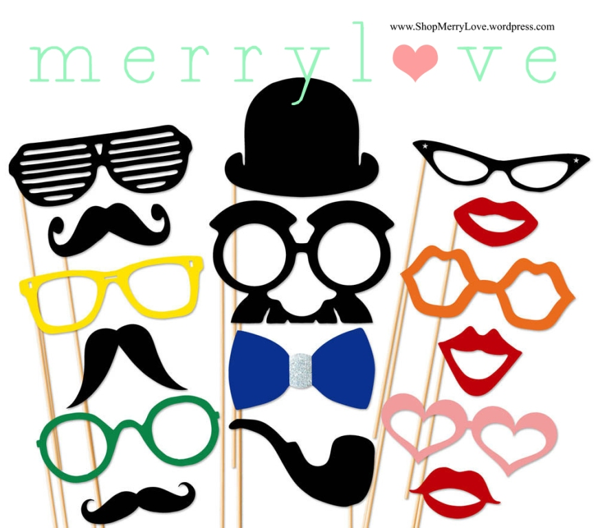 MerryLove Colour Burst Props Pack