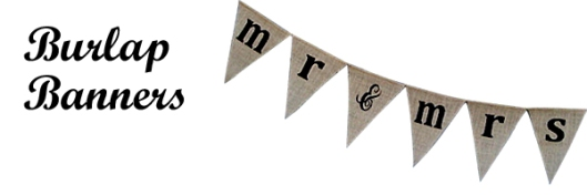 Product Button - Burlap Banners