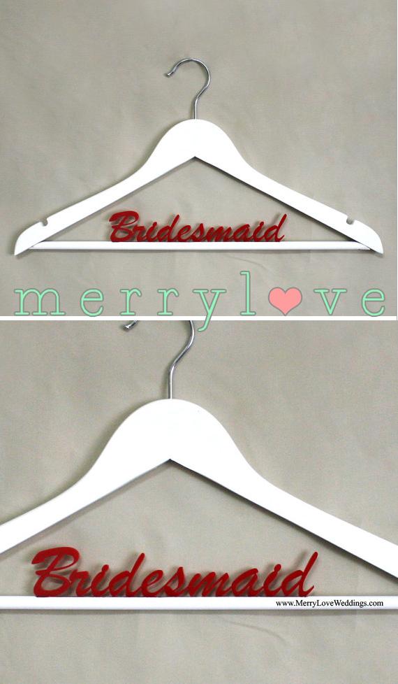 MerryLove Bridal Hanger Bridesmaid