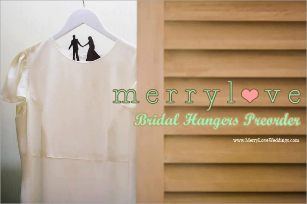 MerryLove Bridal Hangers