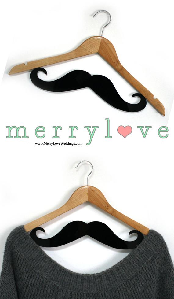 MerryLove Bridal Hanger Moustache